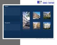Bild Webseite Henke u. Partner Architekten Dresden