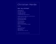 Bild Webseite Herde Christian Dipl.-Ing. Architekturbüro München