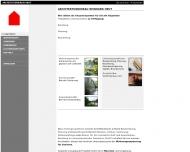 Website Heut Reinhard Architekturbüro
