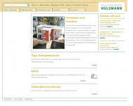 Bild Webseite  Münster