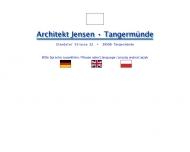 Bild Webseite Jensen Architekturbüro Tangerhütte