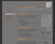 Bild Klein Heidrun Dipl.-Ing. Architekturbüro