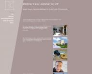 Website Klein Dietmar Architekt