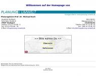 Bild Webseite Koch Michael Dr.-Ing. Freier Stadtplaner Stuttgart