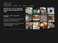 Bild Webseite KOPLAN Kotulla Planungsgesellschaft Köln