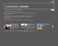 Bild Webseite Leisering Bernhard Architekturbüro Berlin