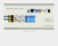 Bild Webseite Lux Heinrich Architekturbüro Köln
