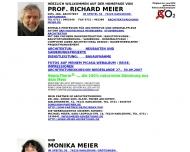 Bild Webseite Meier Richard Karlsruhe