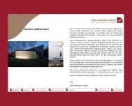 Bild Webseite Morawe-Krüger, Sigrid Architekturbüro Lübeck