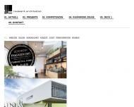 Bild Webseite Raumwerk.Architekten Architekten Köln