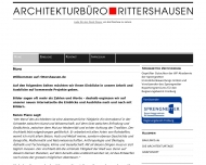 Website Rittershausen Dipl.-Ing. Claus