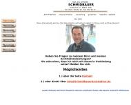 Bild Webseite Dipl.-Ing. Werner Schmidbauer Köln