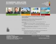 Bild Webseite Schneider-Sedlaczek Köln