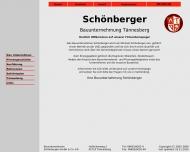 Website Schönberger Josef Dipl.-Ing.(FH) Architekturbüro