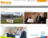 Website Otten Bauelemente