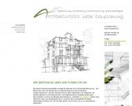 Bild Webseite Weise Architekturbüro Bauplanung Dresden