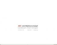 Website ARC Architurconzept Lauterbach,Oheim,Schaper