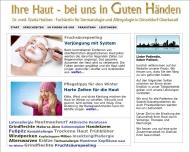 Website Hubbes Gisela Dr.med. Hautärztin