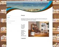 Website Döring Peter Dr.